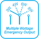 Multiple Wattage Emergency Outpu