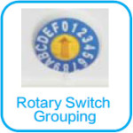 rotary group switching