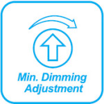 min dimming adjustment